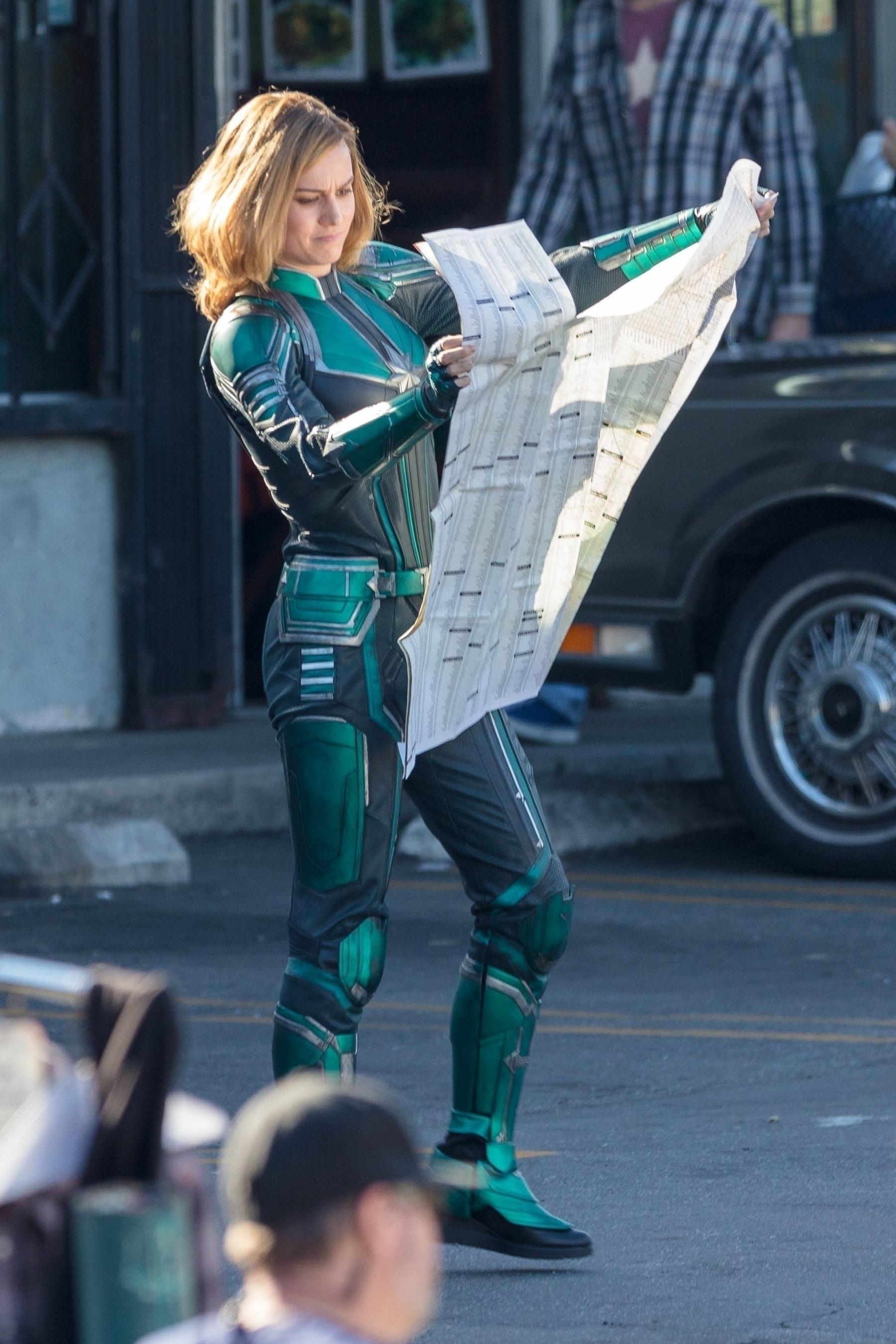 Brie Larson Captain Marvel 8