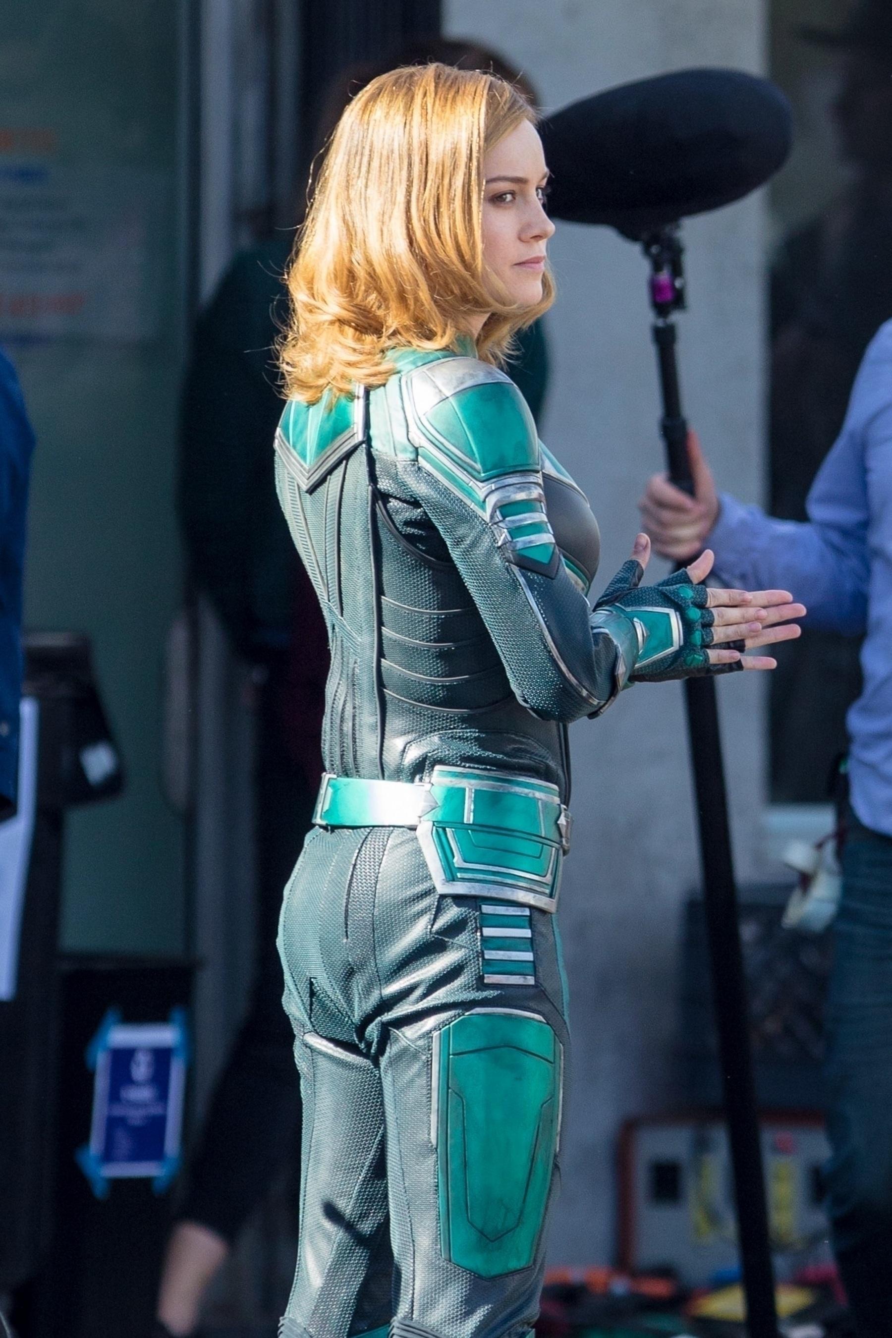 Brie Larson Captain Marvel 7
