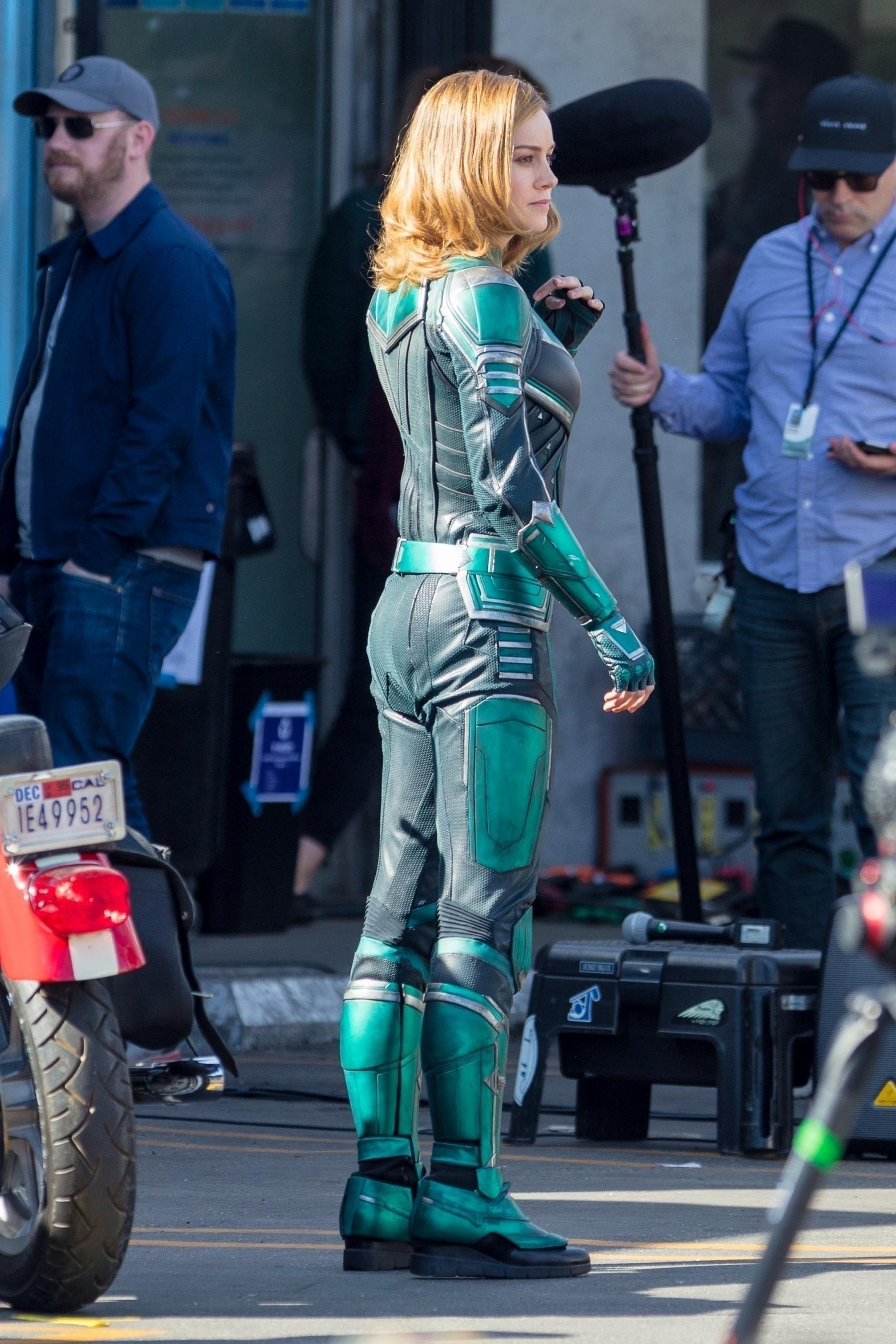 Brie Larson Captain Marvel 9