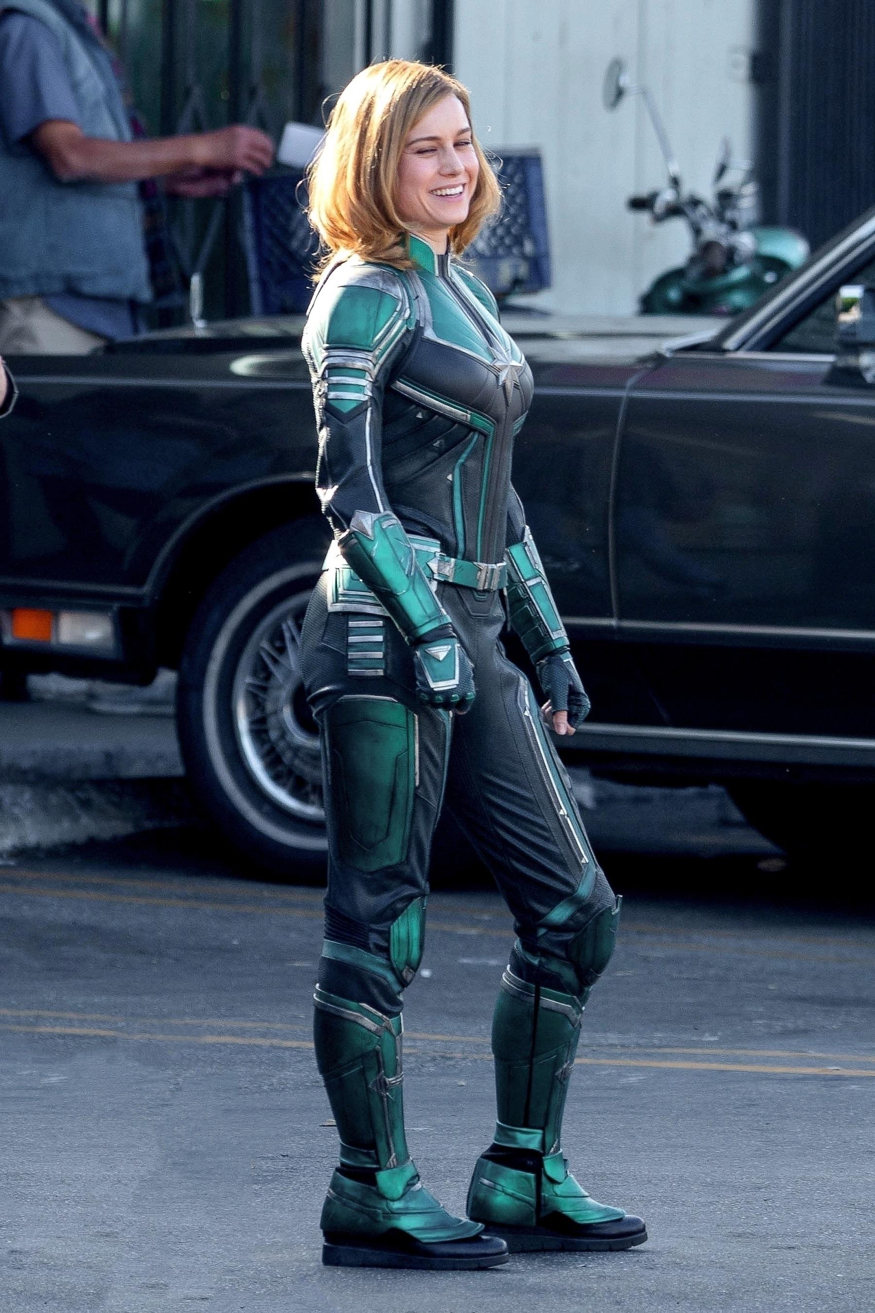 Brie Larson Captain Marvel 4