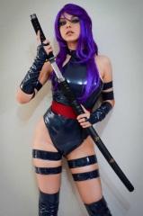 Psylocke Cosplay 10