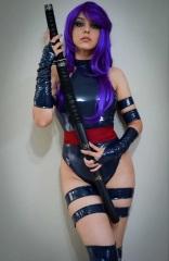 Psylocke Cosplay 12