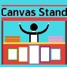 canvas stand